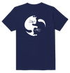 Yin And Yang  Cat Funny T-Shirt