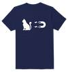 Electromagnetic Cat Funny T-Shirt