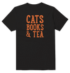 Cats Books & Tea  T-Shirt