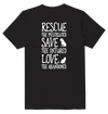 Rescue Save Love Animals T-Shirt