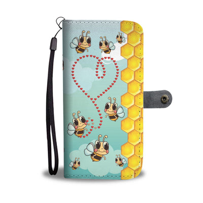 Retro Style Bee Lover IPhone/Android Wallet Case
