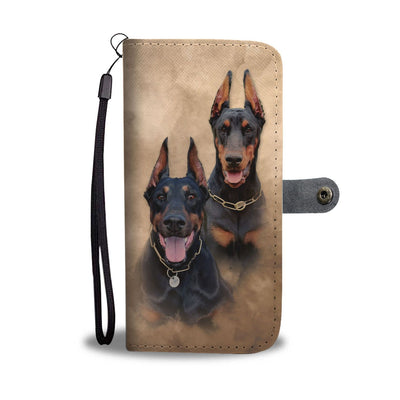 Awesome Doberman IPhone/Android Wallet Case