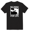 Best Friend For Life Cat Lover T-Shirt