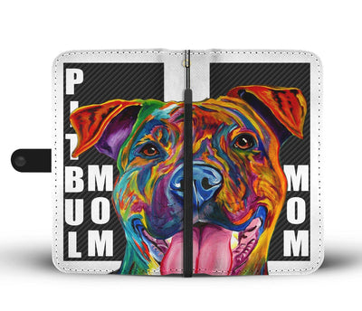 Pitbull Mom IPhone/Android Wallet Case