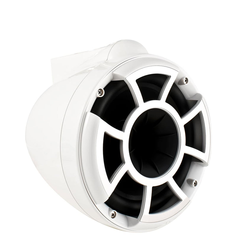 "REV 8 W-X V2 | Wet Sounds Revolution Series 8"" White Tower Speaker With X Mount Kit"