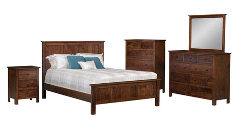 Image of The Potomac Bedroom Suite - Amish Handcrafted Furniture - Cherry