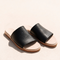 two soles tallow slide black