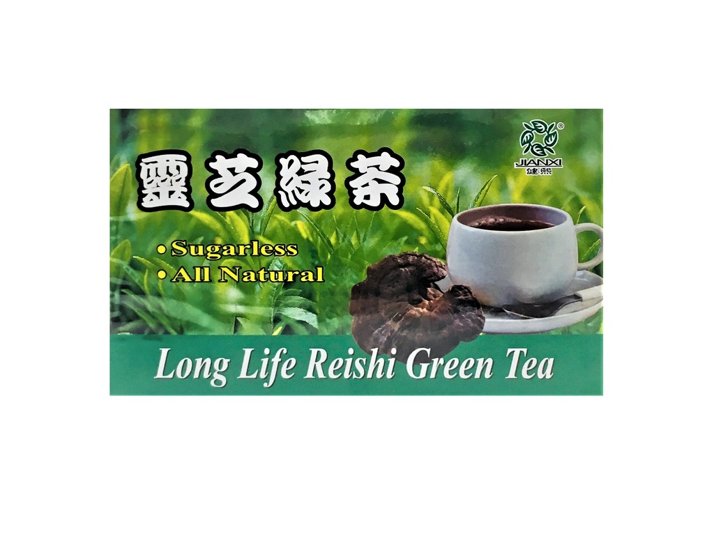 Long Life Reishi Green Tea