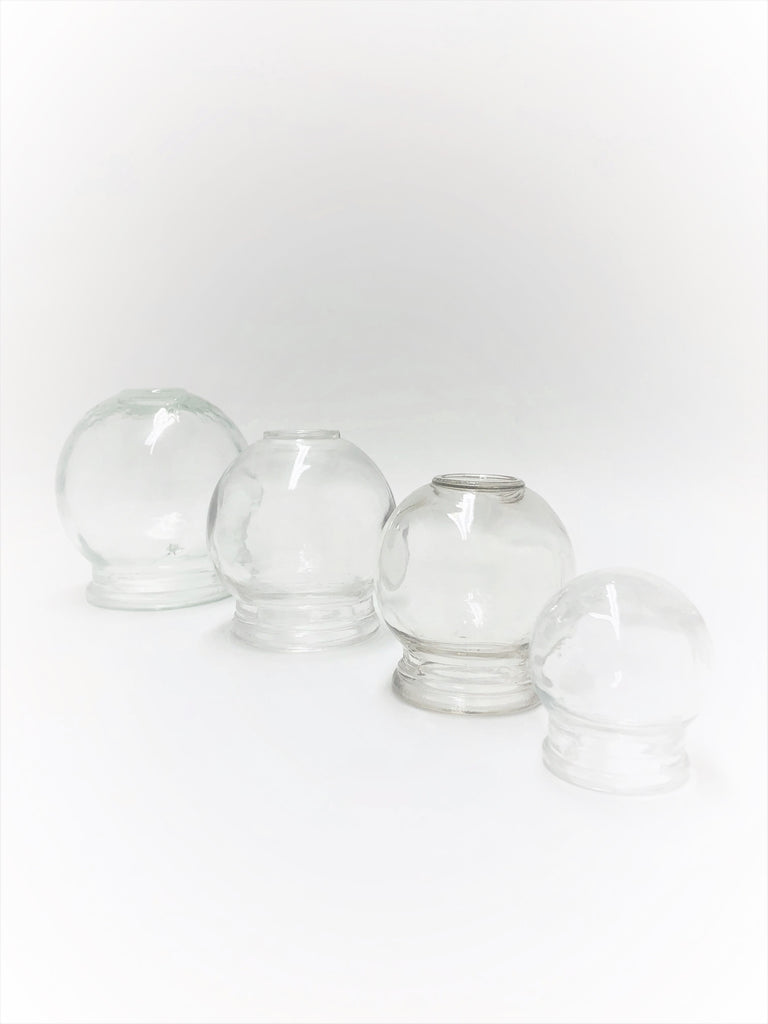 Glass Cup (INDIVIDUAL OR SET OF 4)