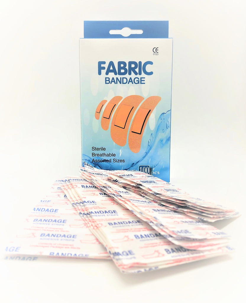 Sterile Breathable Bandages (100 pcs)