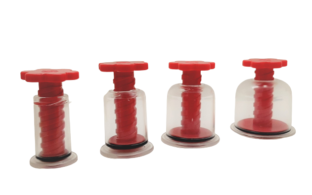 Twist Top Vacuum Cupping Set (12 cups)