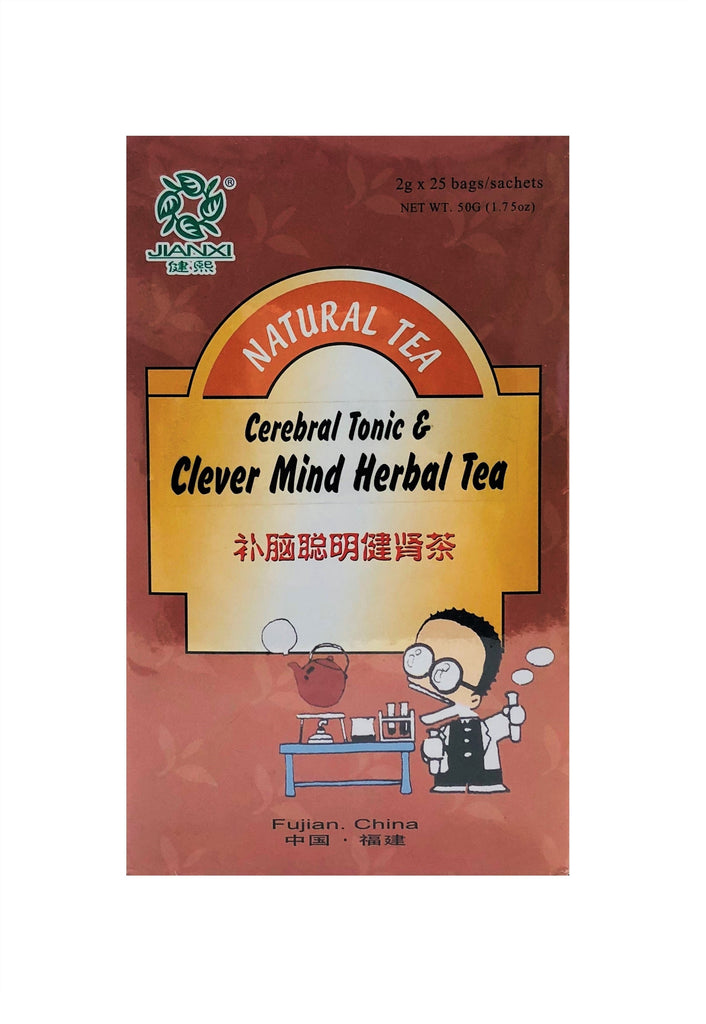 Cerebral Tonic & Clever Mind Herbal Tea