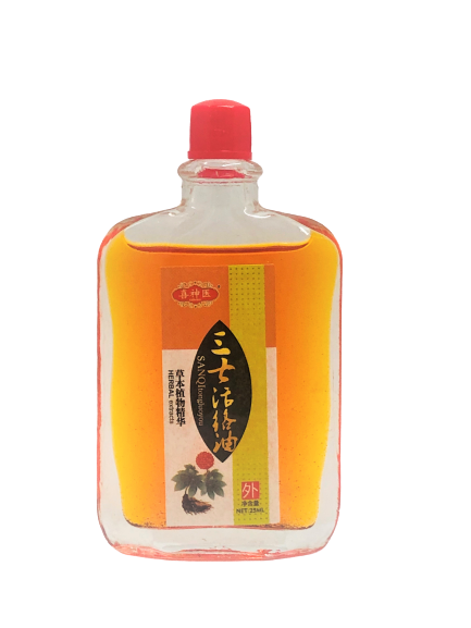 Sanqi Tong Luo You (Notoginseng Massage Oil) 三七活络油