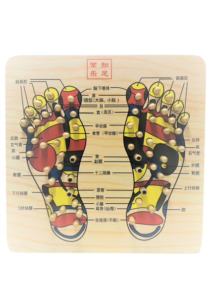 Reflexology Foot Massage Board
