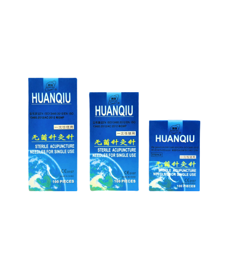 Huanqiu Sterile Single-use Acupuncture Needles (Multiple Sizes Available)