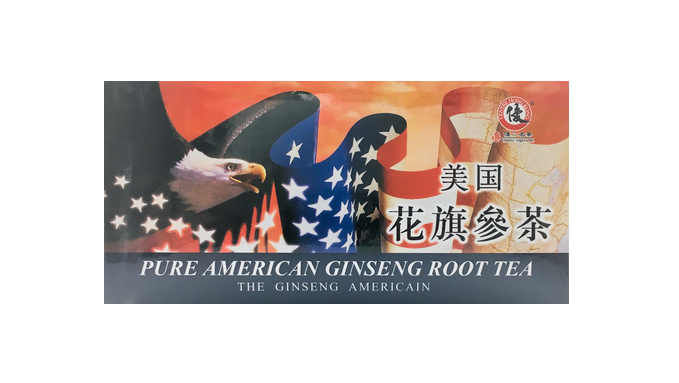 Pure American Ginseng Root Tea