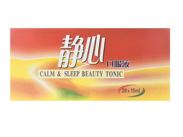 Calm & Sleep Beauty Tonic 静心口服液 (MENOPAUSE)