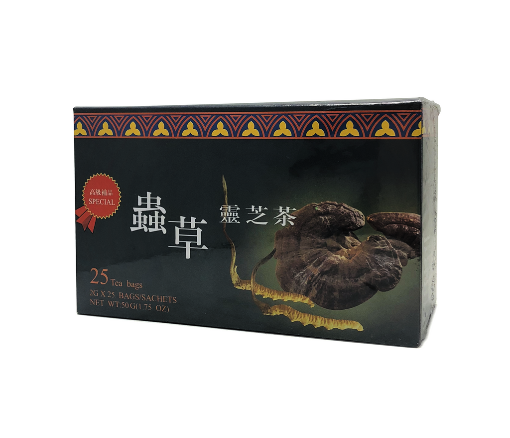 Cordyceps & Reishi Mushroom Herbal Tea (BEST SELLER!)