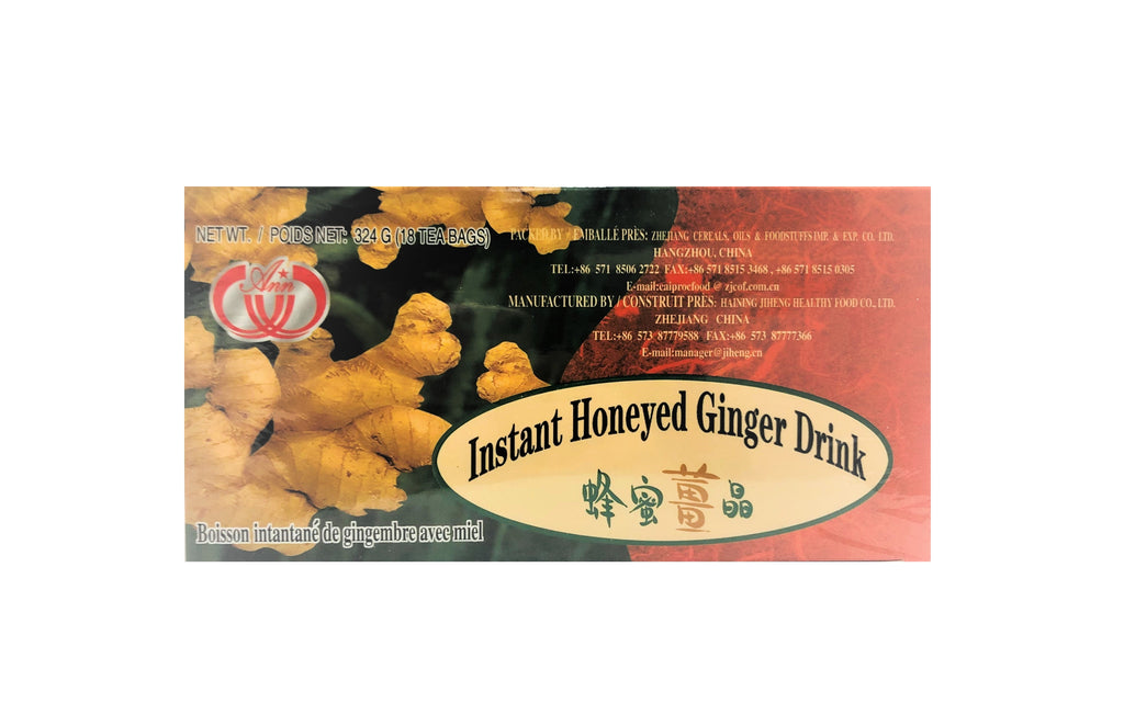 Instant Honeyed Ginger Drink 蜂蜜薑晶
