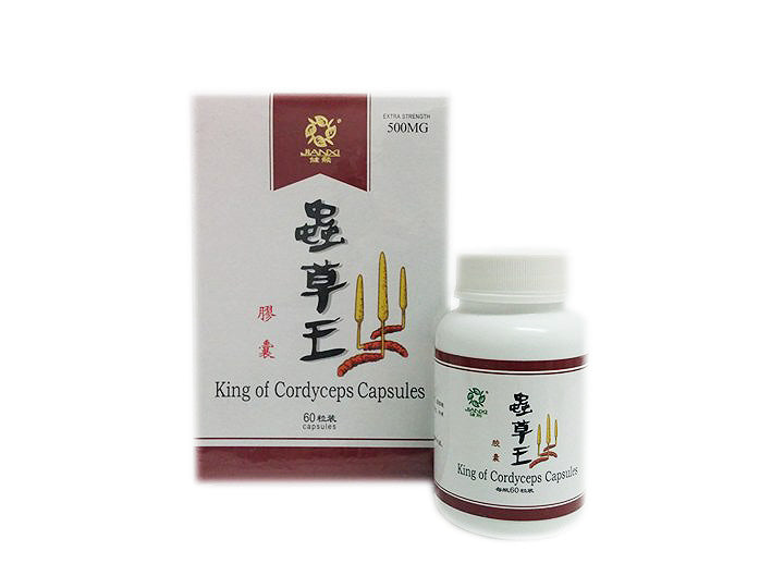 King of Cordyceps Capsules 虫草王(LUNG AND KIDNEY SUPPORT)