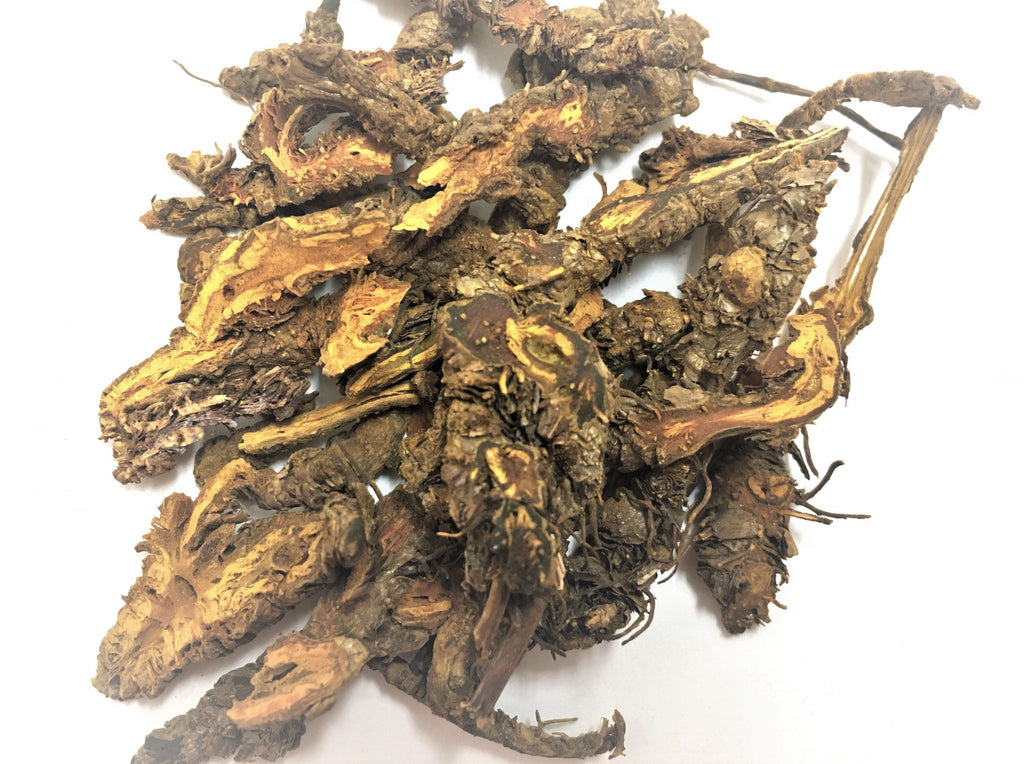 Huang Lian (Golden Thread Root, Rhizoma Coptidis, 黄莲)