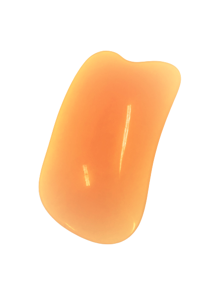 Honey Gua Sha Jaw Crescent