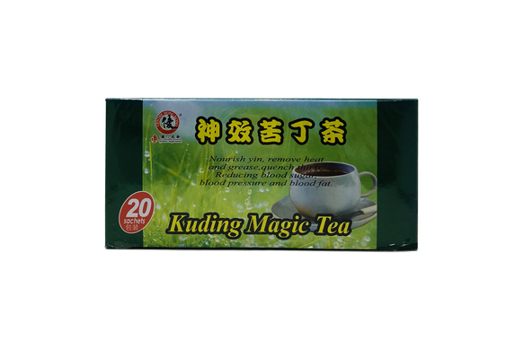 Kuding Magic Tea (REDUCE BLOOD PRESSURE & SUGAR; INSOMNIA ; HEADACHE)