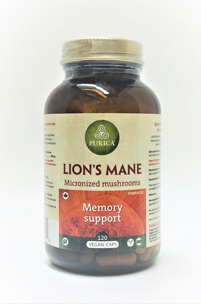 Lion's Mane (Micronized Mushrooms) (MEMORY SUPPORT)