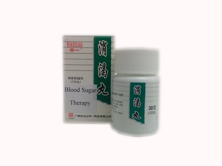 Xiaoke Pills 消渴丸 (BLOOD SUGAR THERAPY)