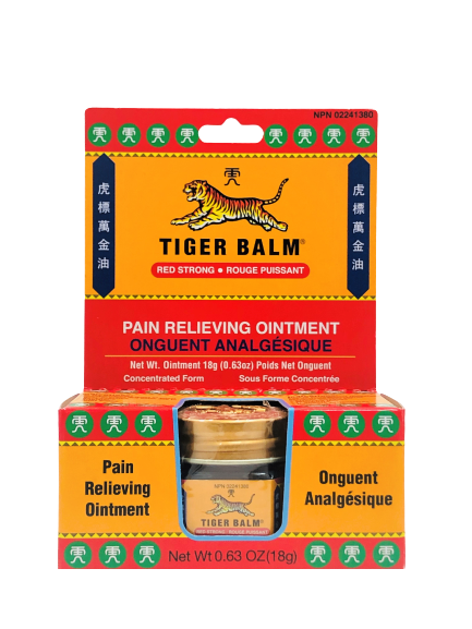 Tiger Balm (Red Strong) 虎标万金油