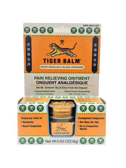Tiger Balm (White Regular) 虎标万金油