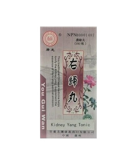 You Gui Wan (Kidney Yang Tonic) 右歸丸 (BEST SELLER!)