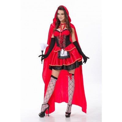 Cheap lovely Little Red Riding Hood plus size Costumes