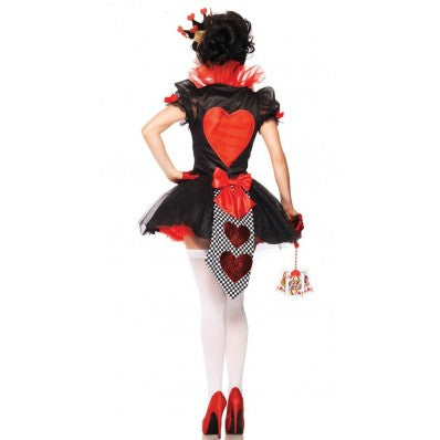 Queen of Hearts playing card Plus size Halloween Costumes