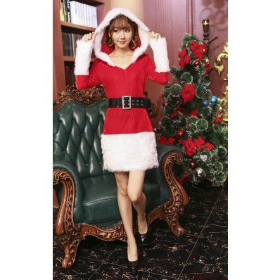 Women Sexy Naughty Santa Christmas Costume