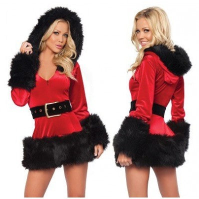 White Black Quality low-cost long-sleeved Christmas costumes