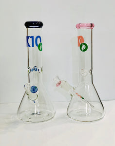 "K10 12"" 5mm Thick Bong"