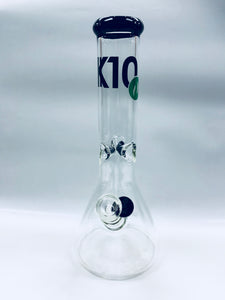 "K10 Glass Bongs 12"" 9mm Thick Bong"