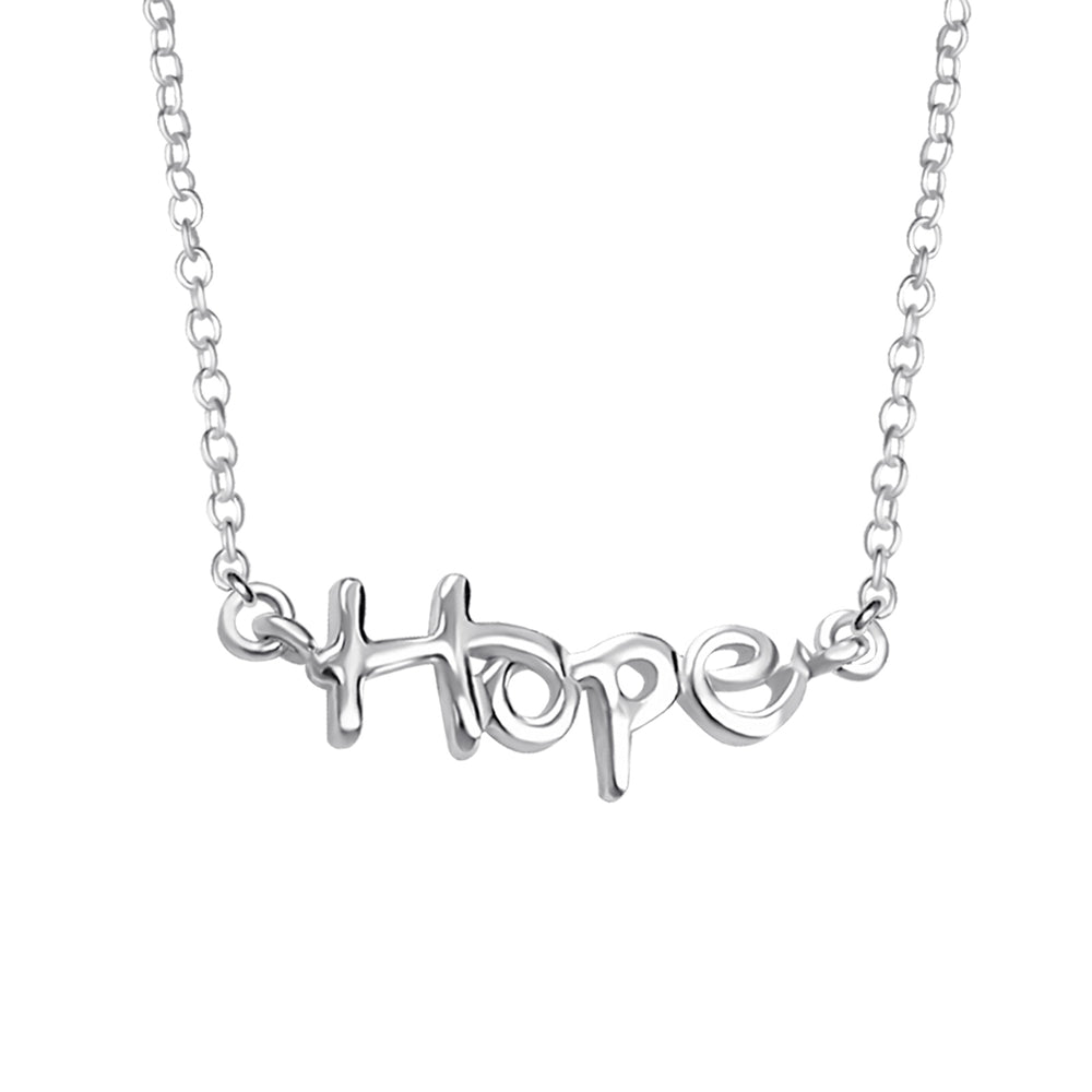".925 Sterling silver ""Hope"" Necklace"