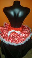 Red and White Polka Dot Pettiskirt