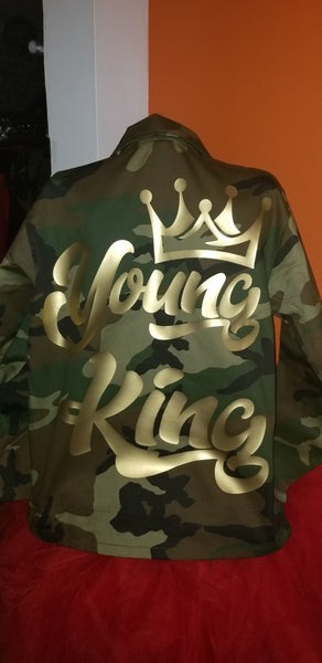 Young King Camo Jacket