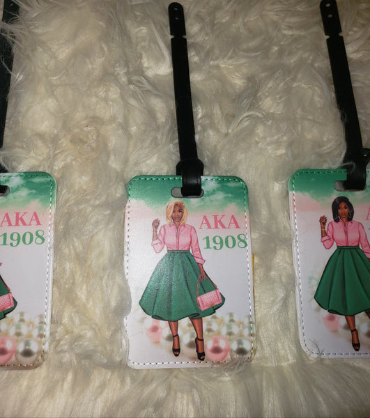 1908 LUGGAGE TAGS