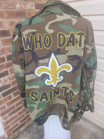 Saints Camo Jacket