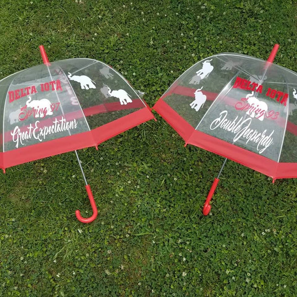 Sorority Umbrella-Trim