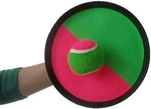 Pitch N Catch Velcro Paddle Ball Set