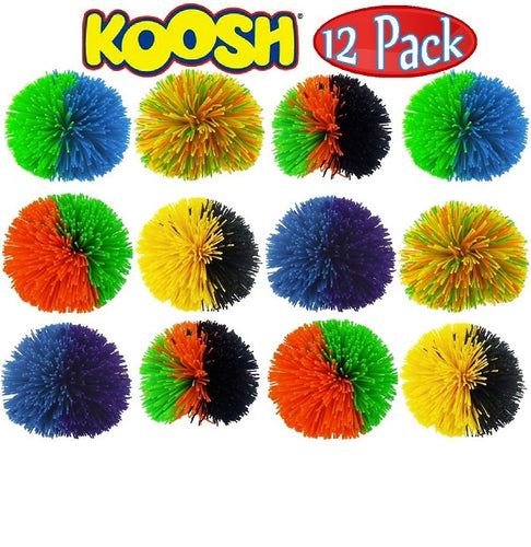 Koosh Ball Classic - Set Of 12 - Assorted Colors