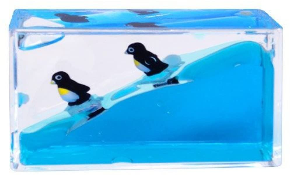 Mini Wave Paperweight Penguin