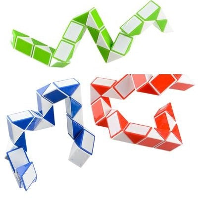 Twist Snake Puzzle Set of 3