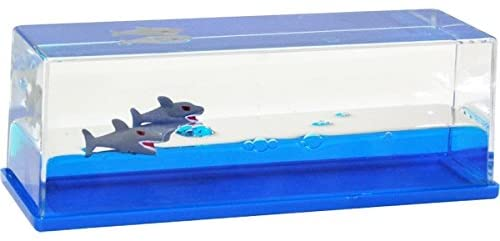 Wave Paperweight Sharks