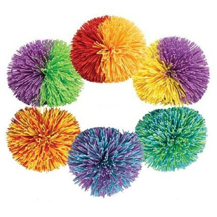 Koosh Ball Classic - Set Of 2 - Assorted Colors